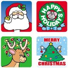 Seasonal Stickers - Christmas
