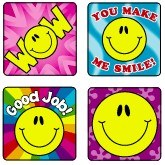 Merit Stickers - Smiley Faces