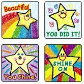 Merit Stickers - Stars