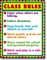 Poster Class Rules