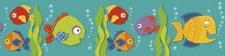 Straight Border - Fish