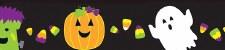 Straight Border - Halloween