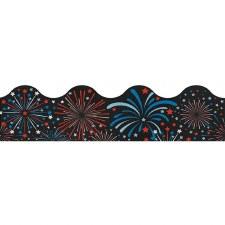 Scalloped Trim - Fireworks