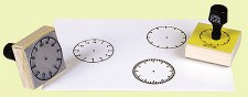 Clock Stamp - Set of 3