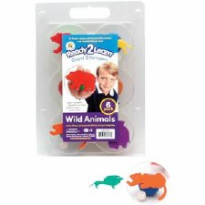 Sponge Stamper (6) Wild Animal