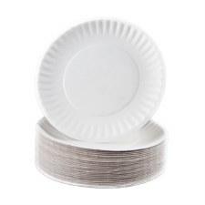 "Paper Plates 6"" (100)"