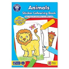 Colour & Activity book Animals