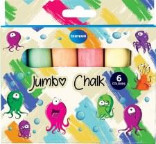 Coloured Jumbo Chalk (6)