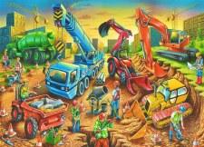 Constrution  Puzzle 80  pcs