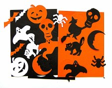 Card Templates Halloween
