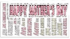 Seasonal Stickers Mothers Day