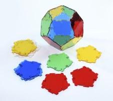 Crystal Polydron Hexagons
