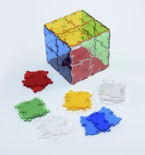 Crystal Polydron Squares