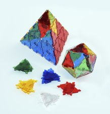 Crystal Polydron Traiangles