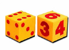 Giant Foam Dice (2)