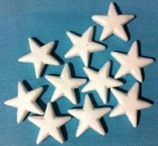 Polystyrene Stars - 10