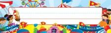 Desk Name Plates - Carnival