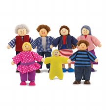 Doll Family  7 pce