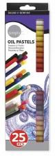 Daler Rowney Oil Pastels 25