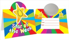 Stand Up Cert - Star of Week
