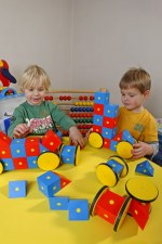 Junior Magnetic Blocks & Wheel