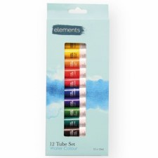 Elements water Colours 12x12ml