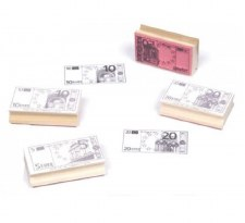 Euro Bills Stampers Set 2