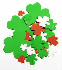 Shamrocks Foam Shapes