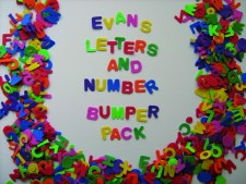Foam U/C Letters and Numbers