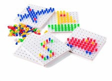 Peg Boards & Pegs - Stackable
