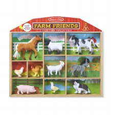 Farm Friends Figures 10pce