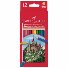 Faber Castell Col Pencils 12's