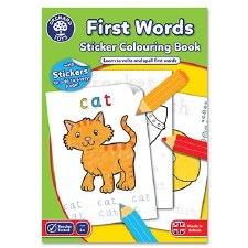 First Words Activity Book