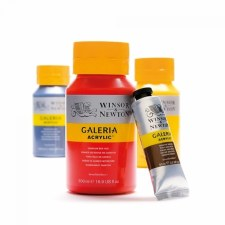 Galleria Acrylic 500ml Pale Lemon