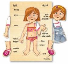 Girl  wooden Puzzle 6pcs