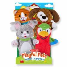 Hand Puppets Playfull Pets(4)