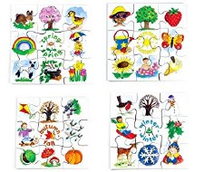 Junior Puzzles - Seasons