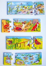 Life Cycle Puzzles - Set of 4