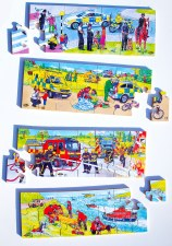 Emergency Services - Set of 4