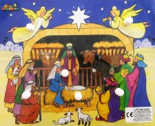 Festive Puzzle Nativity