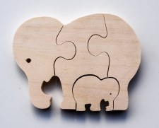 Parent+Baby Jigsaw - Elephant