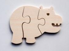 Jigsaw - Hippo