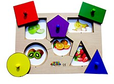 Peg Board - Shape & Picture