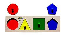 Peg Board - Shape & Colour