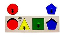 Peg Board - Shape & Colour