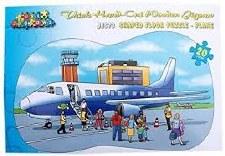 Large Floor Puzzle - Aeroplane