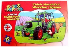 Large Floor Puzzle - Tractor