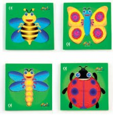 Beginner Tray Puzzle Insect