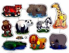 Big Peg Puzzle 'Jungle'
