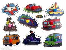 Big peg Puzzle 'Transport'